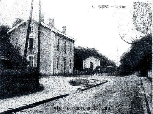 Gare à Pessac